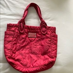 Marc Jacobs Nylon Pink Tote Bag